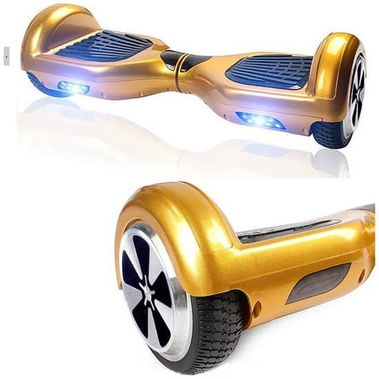 """6.5"""" gold hoverboard 1"""