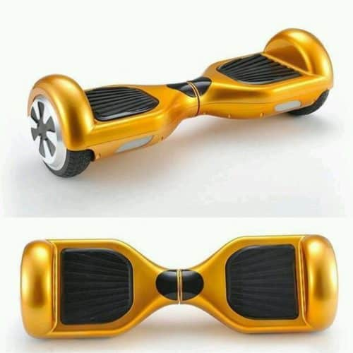 """6.5"""" gold hoverboard"""