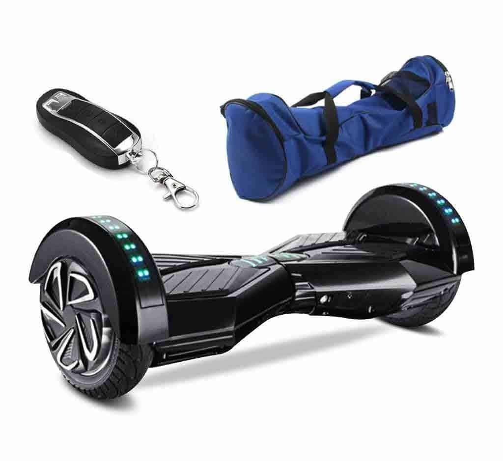 hoverboard 8 inch black 3