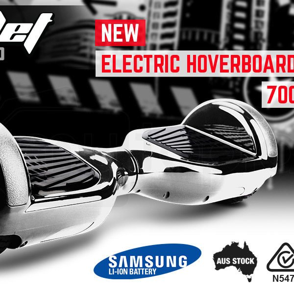 hoverboard – chrome