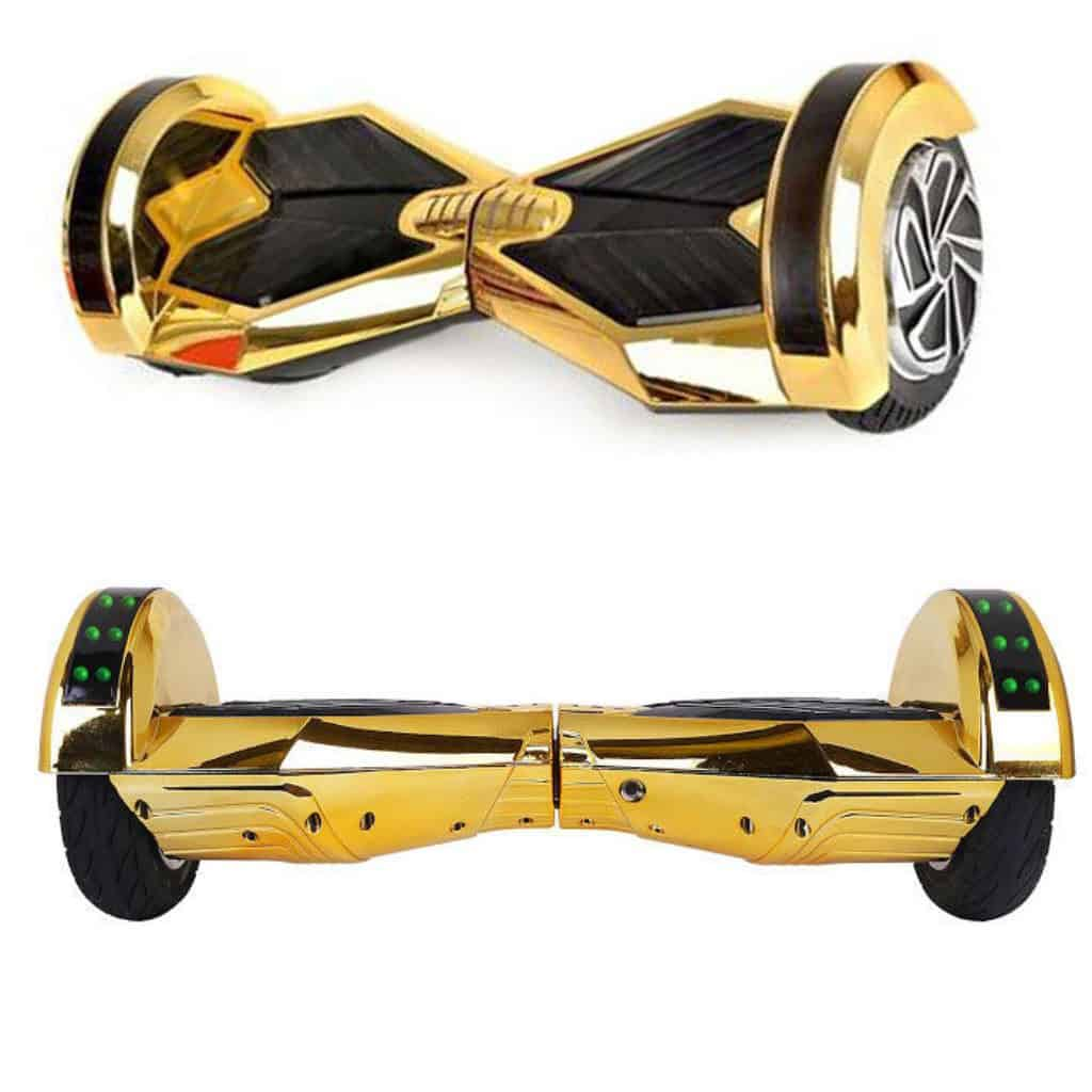 hoverboard 8 inch gold