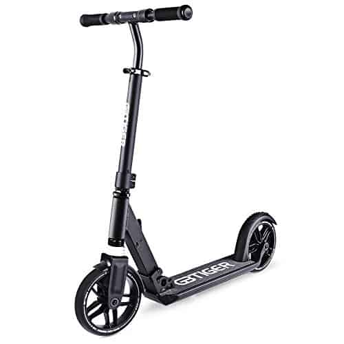8 Inch PK1 Folding Electric Scooter Black 1
