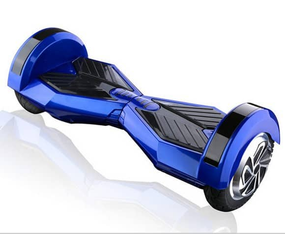 "Lamborghini Style Hoverboard 8"" – Blue [Bluetooth + Free Carry Bag] 1"