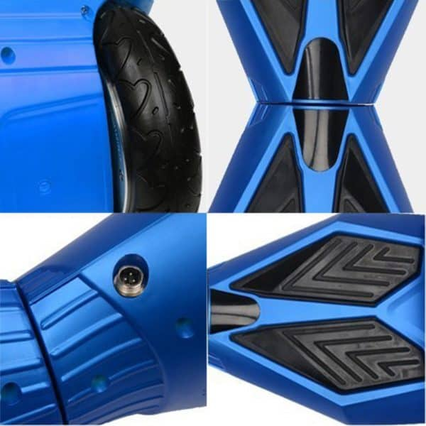 "Lamborghini Style Hoverboard 8"" – Blue [Bluetooth + Free Carry Bag] 3"