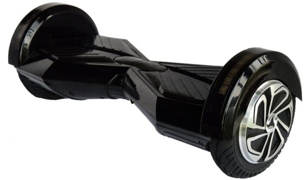 "Lamborghini Style Hoverboard 8"" – Black [Bluetooth + Free Carry Bag] 4"