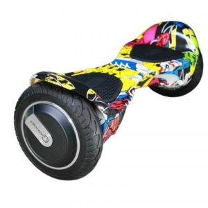 "Smart Self Balancing Scooter 8"" - Graffiti"