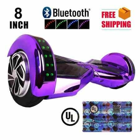 8inch Hoverboard Purple