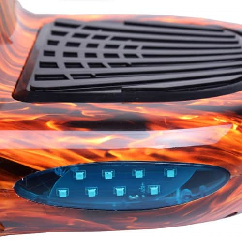 Electric Hoverboard – 10 inch – Flame [Bluetooth + Free Carry bag] 6