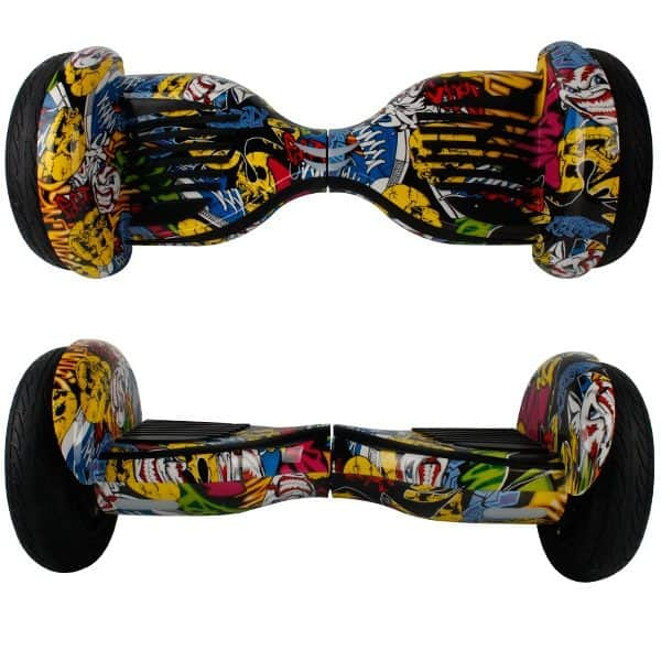 Electric Hoverboard, Self Balancing Scooter -Spider 10 – Graffiti – Bluetooth + Free Carry bag 5