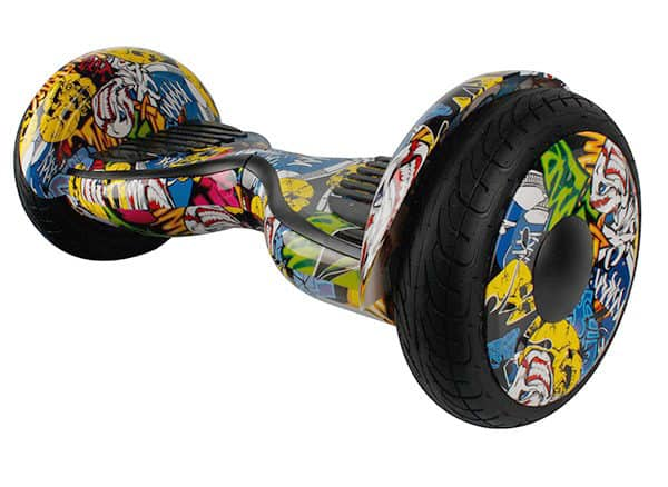 Electric Hoverboard, Self Balancing Scooter -Spider 10 – Graffiti – Bluetooth + Free Carry bag 2