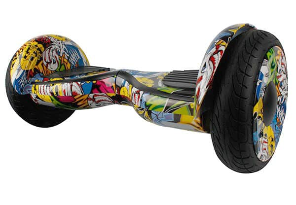 Electric Hoverboard, Self Balancing Scooter -Spider 10 – Graffiti – Bluetooth + Free Carry bag 13