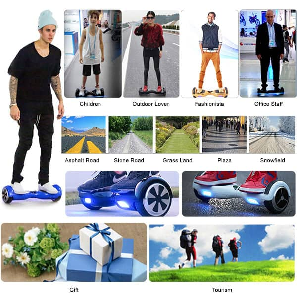 Electric Hoverboard, Self Balancing Scooter -Spider 10 – Graffiti – Bluetooth + Free Carry bag 14