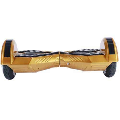 "Lamborghini Style Hoverboard 8"" – Gold [Bluetooth + Free Carry Bag] 2"