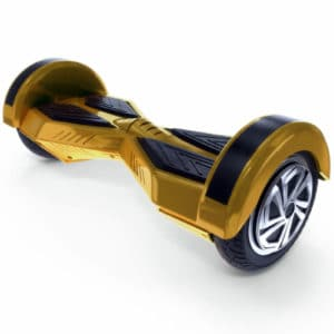 "Lamborghini Style Hoverboard 8"" – Gold [Bluetooth + Free Carry Bag]"