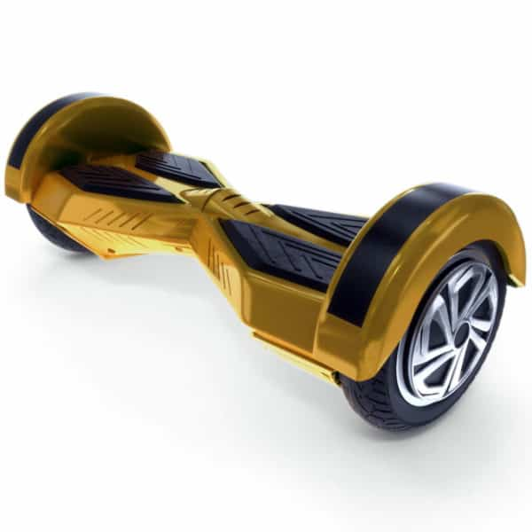 "Lamborghini Style Hoverboard 8"" – Gold [Bluetooth + Free Carry Bag] 3"