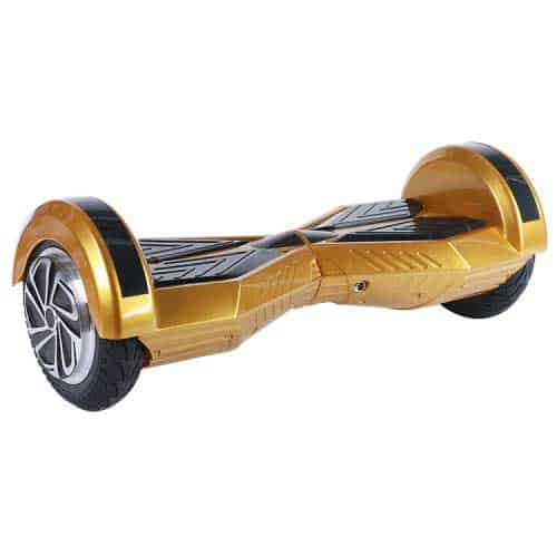 "Lamborghini Style Hoverboard 8"" – Gold [Bluetooth + Free Carry Bag] 1"