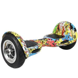Electric Hoverboard - 10 inch – HipHop [Bluetooth + Free Carry bag]