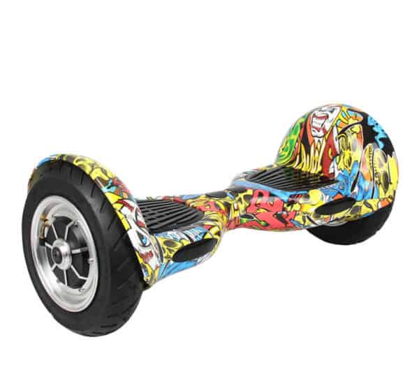 Electric Hoverboard – 10 inch – HipHop [Bluetooth + Free Carry bag] 1