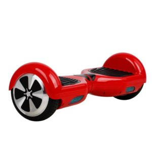 "Smart Electric Self Balancing Scooter 6.5"" - Red [Bluetooth + Free Carry Bag]"