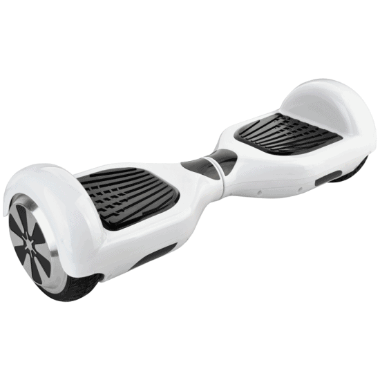 Electric Hoverboard, Self Balancing Scooter – Classic White 6