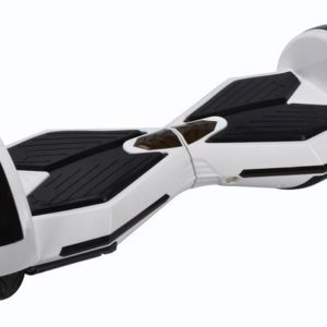 "Lamborghini Style Hoverboard 8"" - White [Bluetooth + Free Carry Bag]"