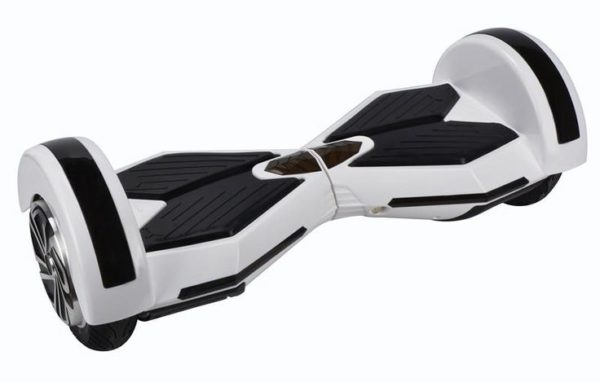 "Lamborghini Style Hoverboard 8"" – White [Bluetooth + Free Carry Bag] 2"