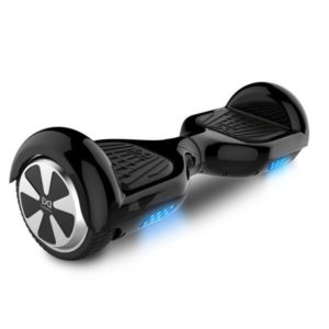 "Smart Electric Self Balancing Scooter 6.5"" - Black [Bluetooth + Free Carry Bag]"
