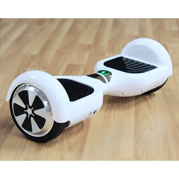 Electric Hoverboard, Self Balancing Scooter – Classic White 2