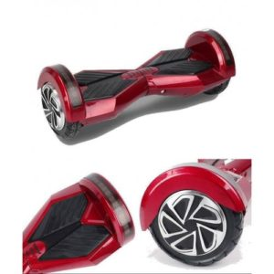 "Lamborghini Style Hoverboard 8"" - Red [Bluetooth + Free Carry Bag]"