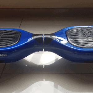 6.5 inch size blue hoverboard demo