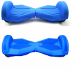 8 inch hoverboard rubber case blue