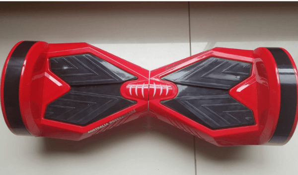 8 inch red hoverboard – demo
