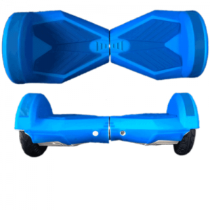 blue rubber case hoverboard