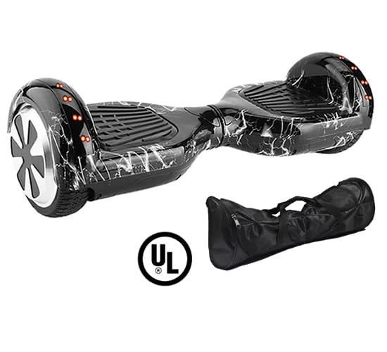 lighting hoverboard small with carry bag