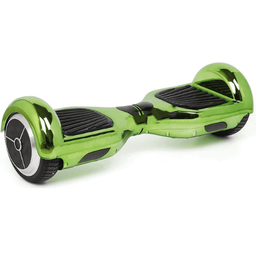 Hoverboard Chrome Green Colour