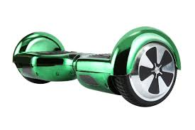 Hoverboard Green Chrome Colour01