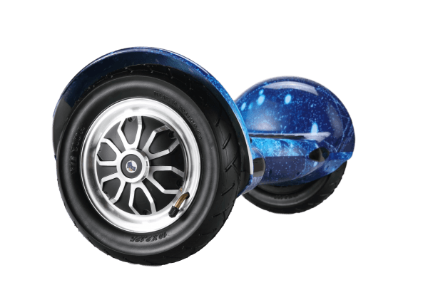 10 inch wheel hoverboard blue galaxy