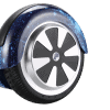 6.5 inch small hoverboard blue galaxy wheel