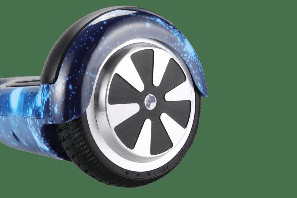 6.5 inch small hoverboard blue galaxy wheel