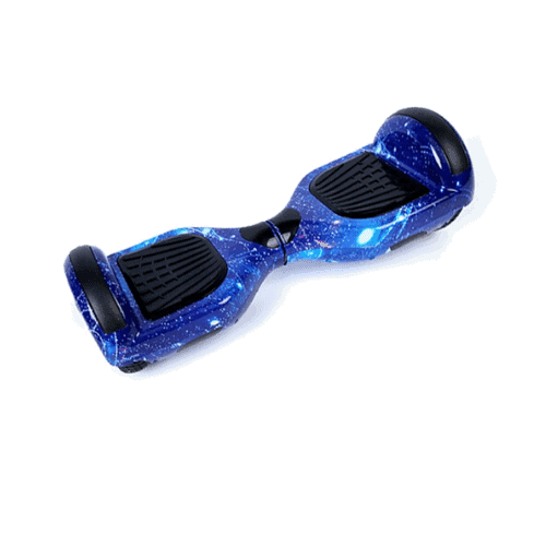 Blue galaxy hoverboard – 6.5 inch
