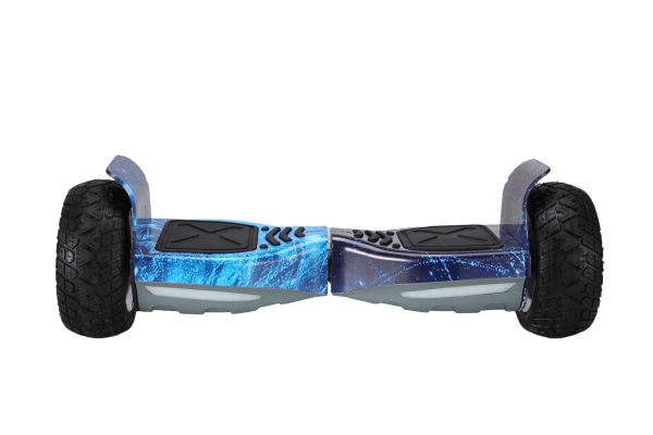Off road hoverboard – Blue galaxy